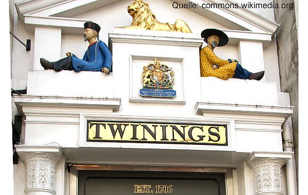 London Flagship Store of Twinings