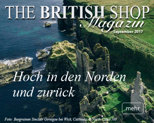 THE BRITISH SHOP Heftmagazin Ausgabe September 2017