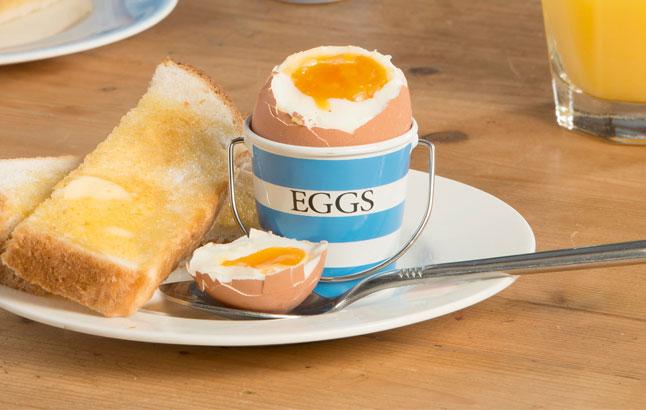 perfekte frühstücksei