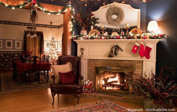Traditionelle Weihnachtsdeko